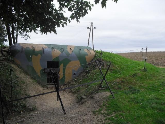 Druhý řopík v Pevnostním muzeu Vranov