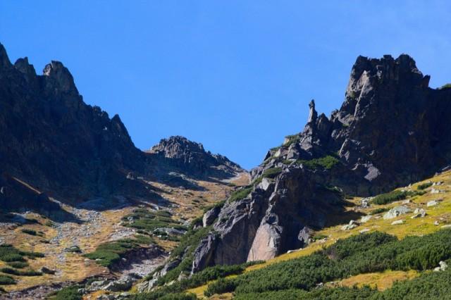 Okolí vodopádu Skok - Mlynická dolina, Vysoké Tatry