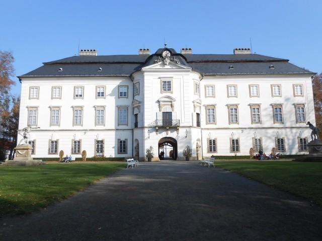 Barokní zámek Vizovice