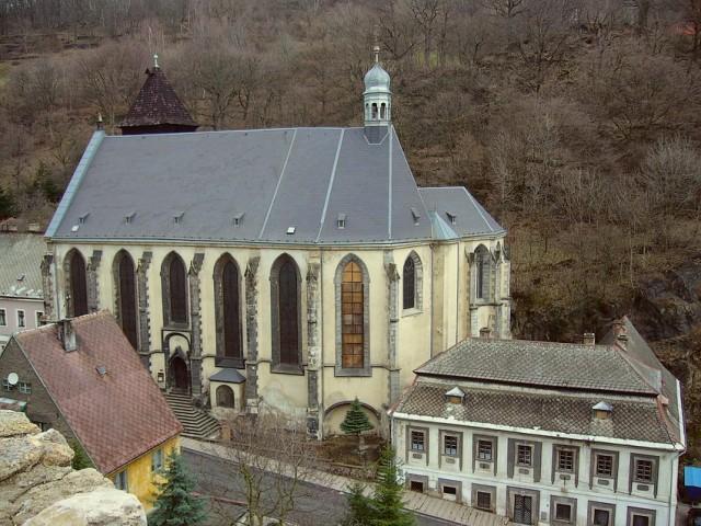 Kostel v Krupce