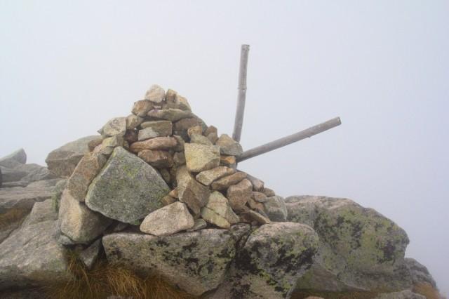 Velká Svišťovka v mlze, Vysoké Tatry