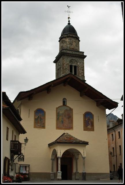 Kostelík v Cogne