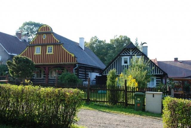 Lidová architektura v Lomnici