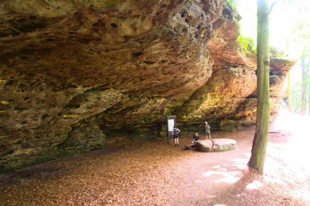 Jeskyně Českých bratří - české Švýcarsko