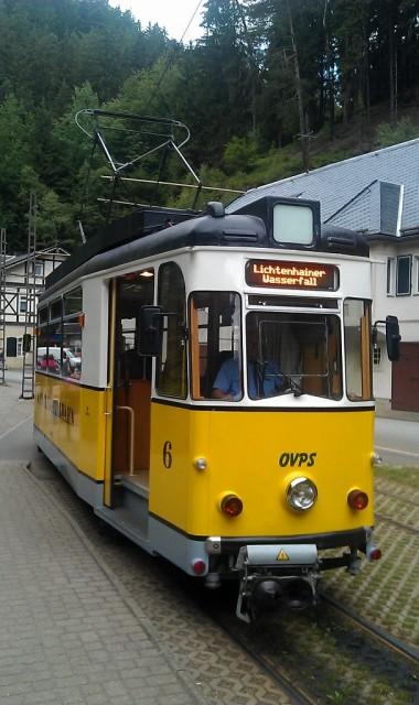 Lesní tramvaj / Kirnitzschtalbahn