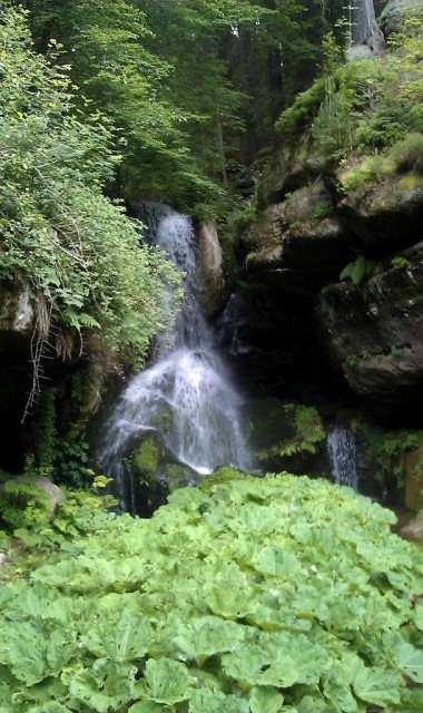 Lichtenhainer Wasserfall - Saské Švýcarrsko