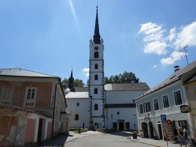 Kostel sv. Bartoloměje ve Frymburku