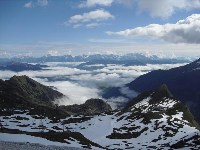 Úchvatné panorama Alp
