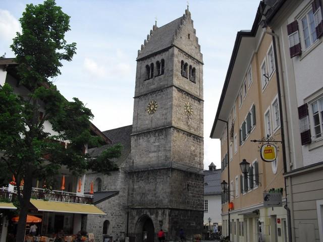 Věž Kastnerturm ve městě Zell am See