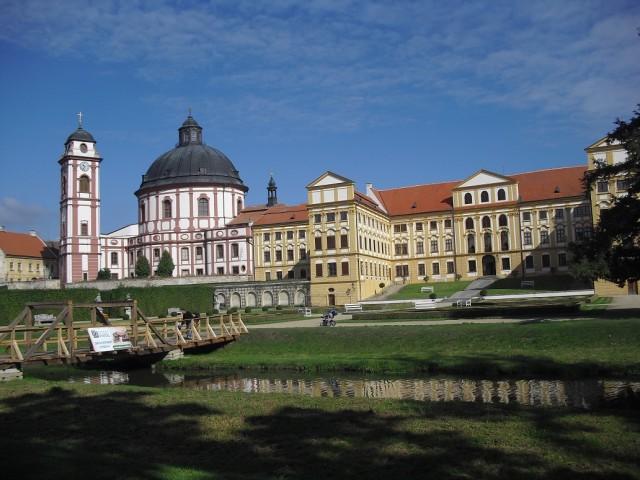 Zámek Jaroměřice nad Rokytnou a chrám sv. Markéty