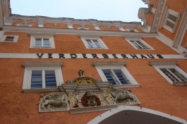 Verderberhaus, budova na náměstí Hauptplatz ve městě Retz
