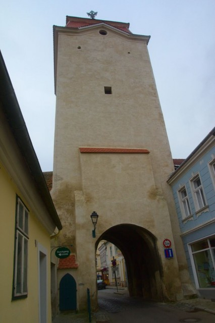 Městská brána Znaimer Tor (Znojemská brána) - Retz, Rakousko