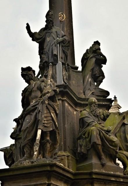 Socha svatého Vojtěcha na Hradčanském náměstí v Praze