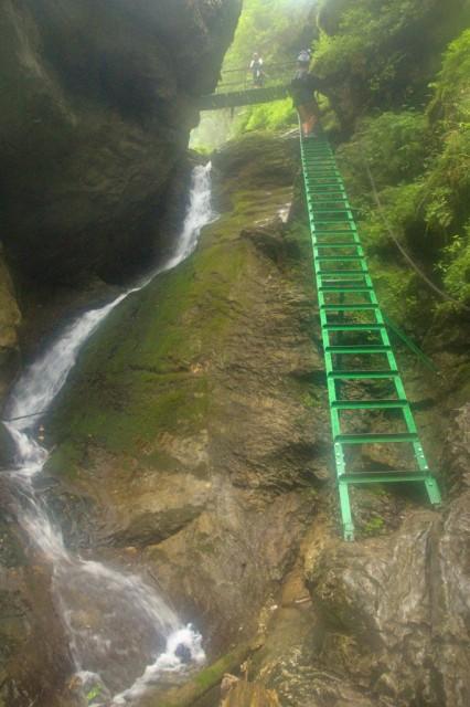 Malý vodopád, roklina Velký Sokol - Slovenský ráj