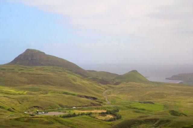 Pohled na západní pobřeží, ostrov Skye - Skotsko