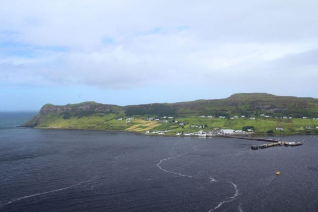 Přístav v Uig, ostrov Skye - Skotsko