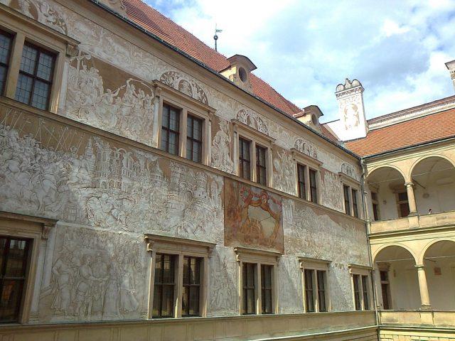 Figurální výzdoba zámeckých zdí