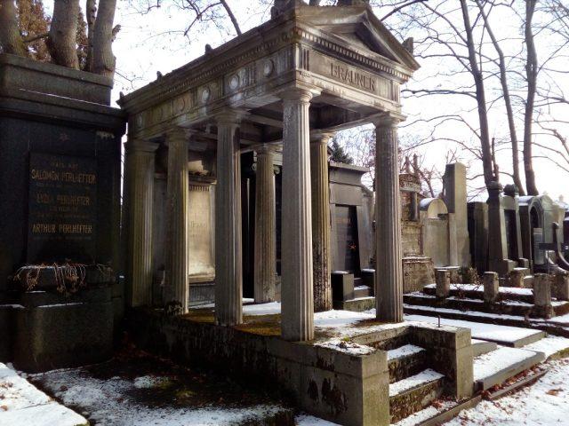 Hrobky bohatých Židů
