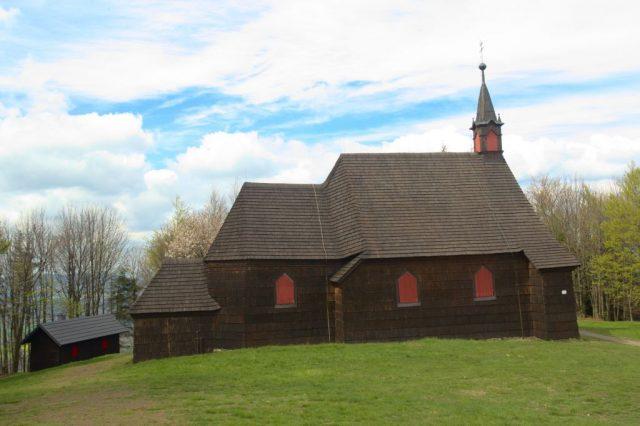 Kostel svatého Antonína Paduánského na Prašivé
