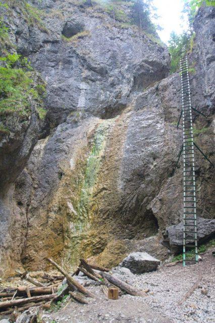 Veľký vodopád v roklině Piecky, Slovenský ráj