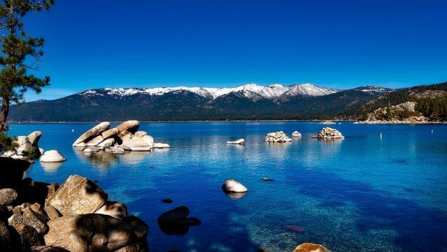 Jezero Tahoe - Kalifornie