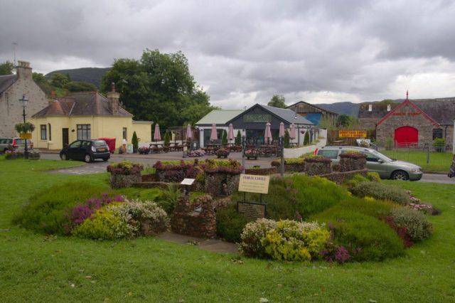 Náměstí v Drumnadrochit, Skotsko