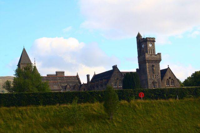 Původní pevnost Fort Augustus, později klášter, nyní hotel - Skotská vysočina