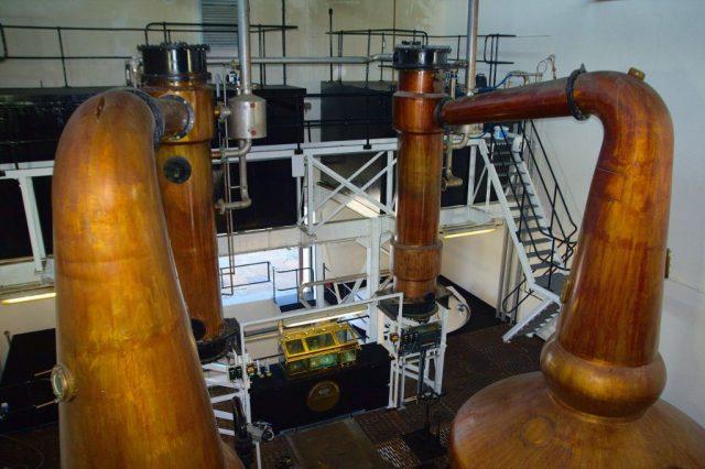 Palírna whisky Návštěvní centrum palírny Glenglassaugh Distillery - Skotsko