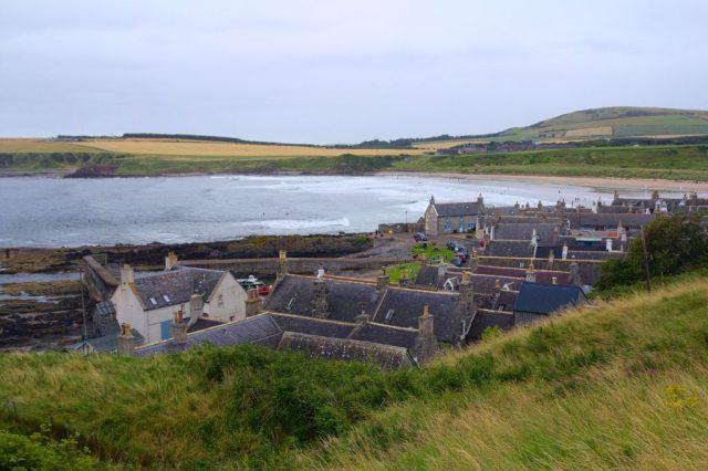 Rybářská obec Sandend, Skotsko