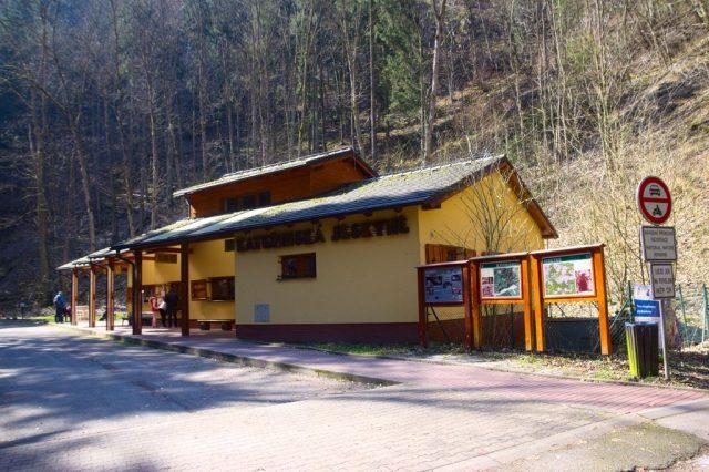 Informační centrum u Kateřinské jeskyně - Moravský kras