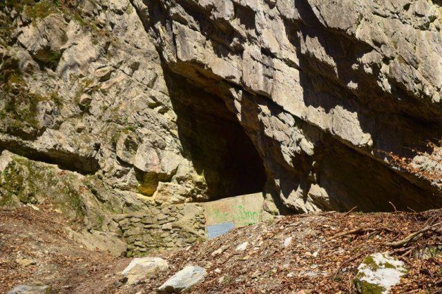 Štajgrova jeskyně v Pustém žlebu - Moravský kras