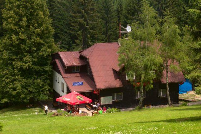 Chata Sněžná - Moravskoslezské Beskydy