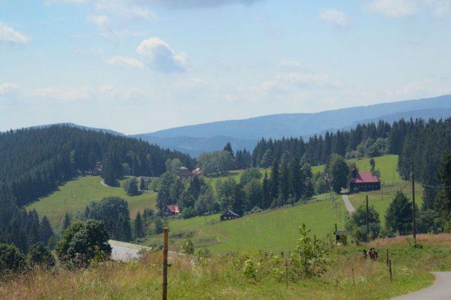 Osada Gruň - Moravskoslezské Beskydy