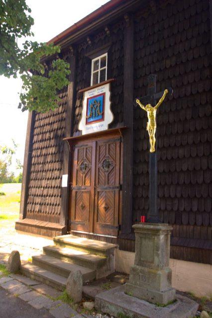 Kostel Panny Marie, pomocnice křesťanů na Gruni, Moravskoslezské Beskydy
