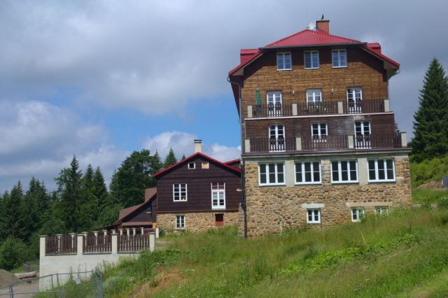 Horská chata Sulov na Bílém Kříži