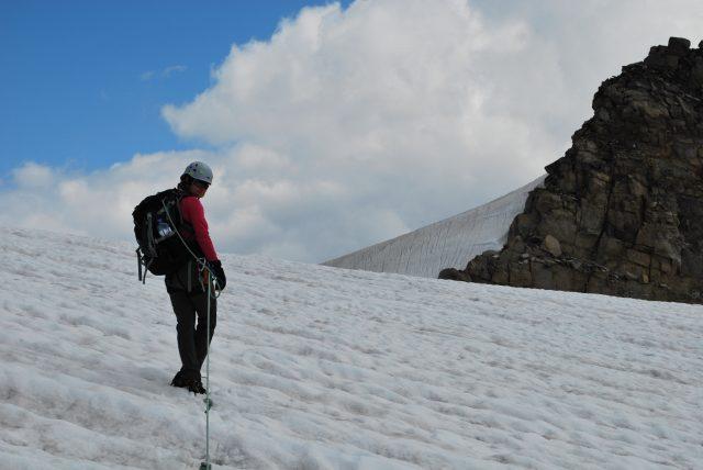 Ledovec pod Granatscharte