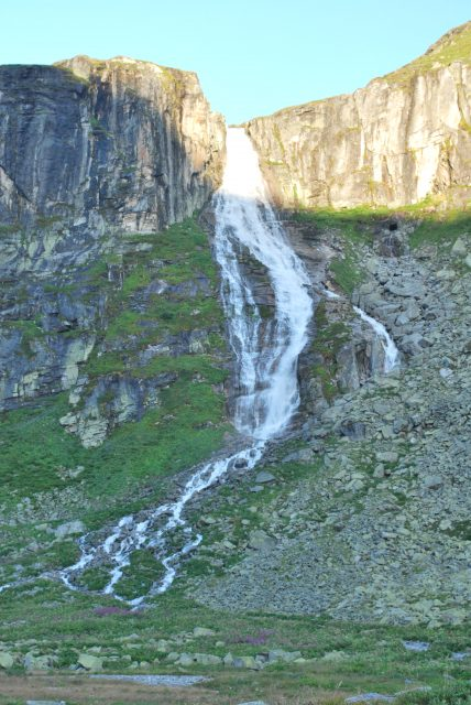 Vodopád pod Weißsee