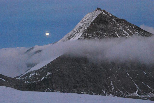 Večerní procházka u Oberwalderhütte