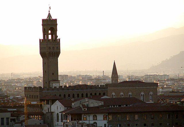 obr. 3. radnice Palazzo Vecchio