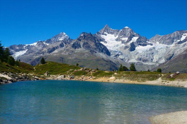 Grünsee bei Zermatt - Švýcarské Alpy