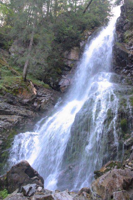 Roháčský vodopád, Roháče