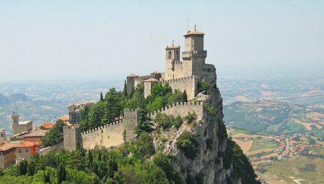 Pohled na San Marino