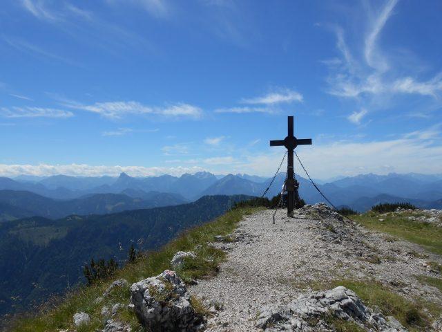 Vrchol Hochkaru ve výšce 1808 m