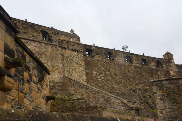 Hradby Edinburského hradu