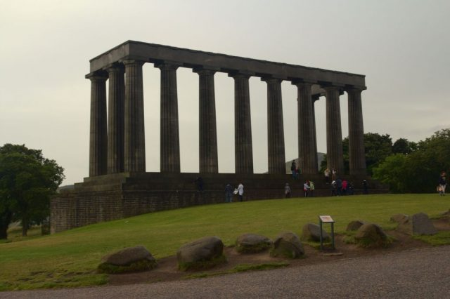 National Monument of Scotland - Calton Hill, Edinburgh