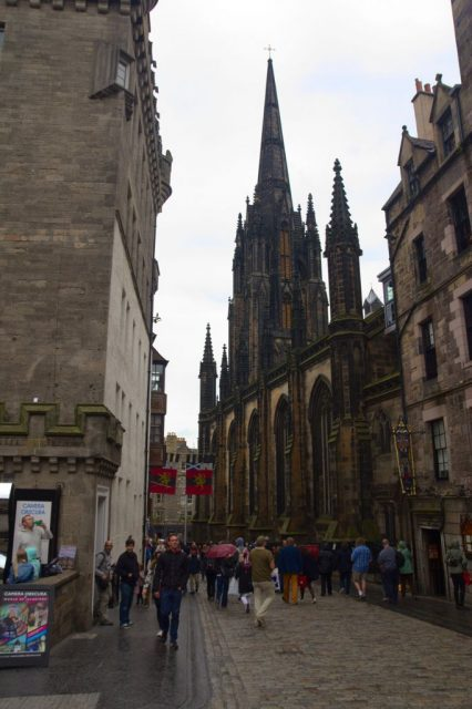 The Royal Mile (Castlehill) - Edinburgh