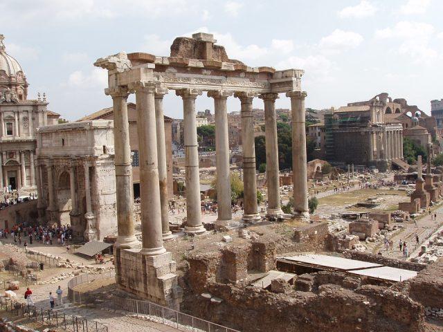 Obr. 3. Forum Romanum