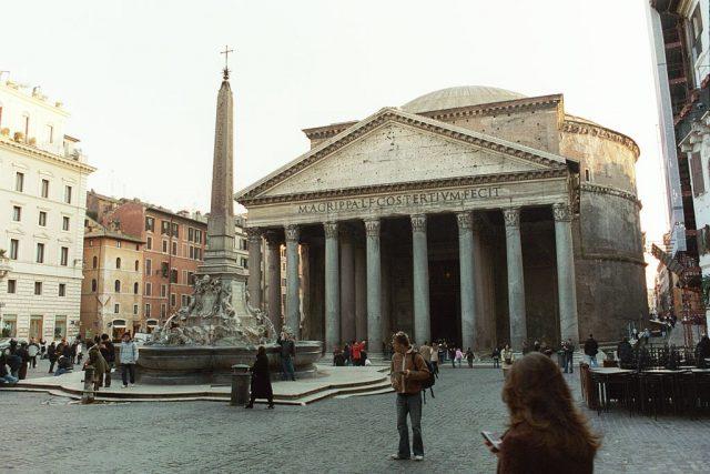 Obr. 2. Pohled na Pantheon