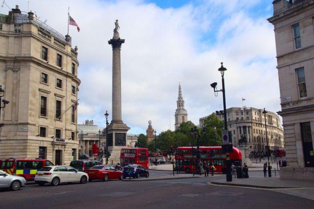 Trafalgarské náměstí, Londýn