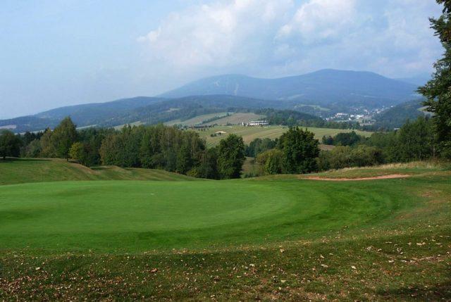 Výhled z Pekelského vrchu